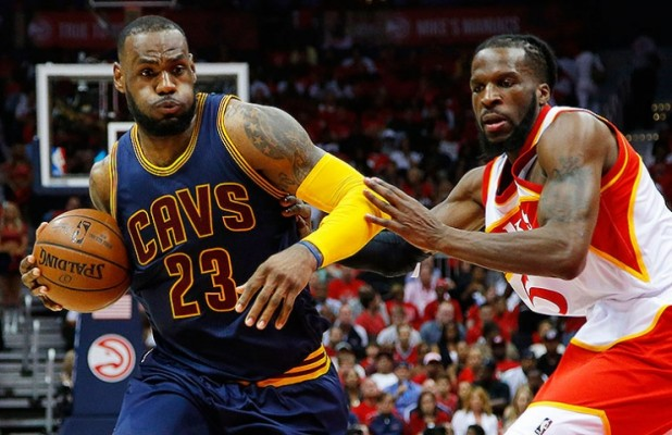 LeBron James vs. Atlanta Hawks on May 22, 2015