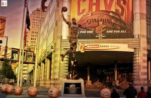 LeBron James Statue