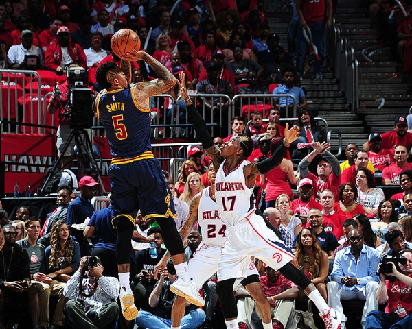 Cleveland Cavaliers vs. Atlanta Hawks Game 1 Recap: J.R. Smith & LeBron Shine In Victory