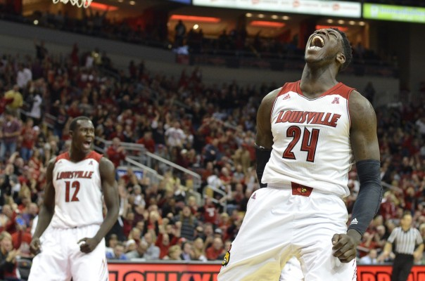 Montrezl Harrell of the Louisville Cardinals