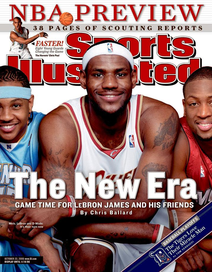 LeBron James Sports Illustrated Covers: From Then to Now | Page 6 of 24 | Cavaliers Nation