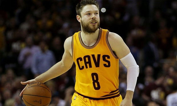 Matthew Dellavedova of the Cleveland Cavaliers