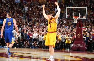 Matthew Dellavedova vs. Golden State Warriors on June 9, 2015