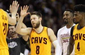 Matthew Dellavedova vs. Golden State Warriors on June 9, 2015