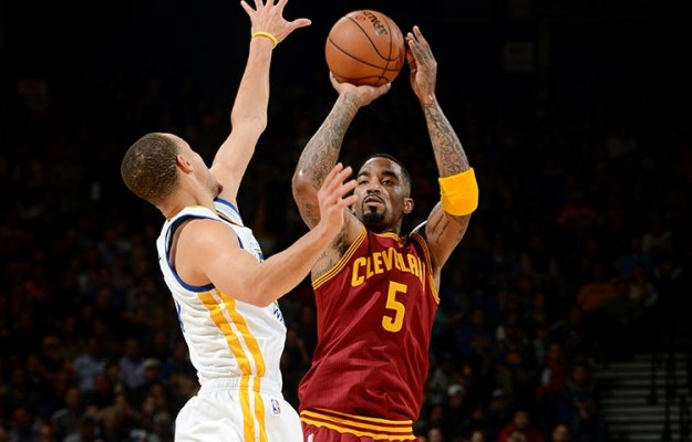 J.R. Smith vs. Golden State Warriors