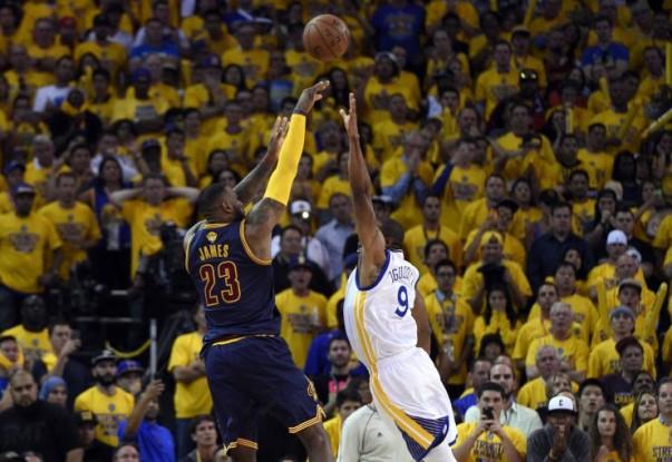 LeBron James vs. Golden State Warriors on June 4, 2015