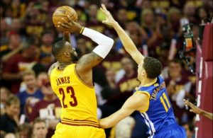 LeBron James vs. Golden State Warriors on June 11, 2015
