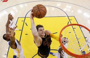 Timofey Mozgov vs. Golden State Warriors on June 4, 2015