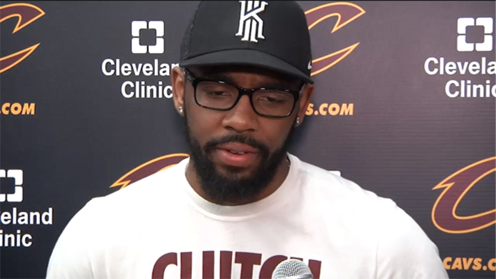 Kyrie Irving Indicates He Won't Be 100 Percent for NBA Finals