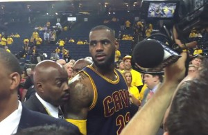 Video: Warriors Fan Yells Inappropriate Remark Towards LeBron James