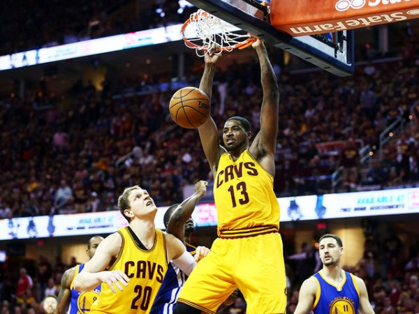 Tristan Thompson vs. Golden State Warriors