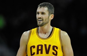 Kevin Love of the Cavs