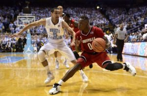 Terry Rozier of the Louisville Cardinals