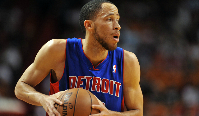 Tayshaun Prince of the Detroit Pistons