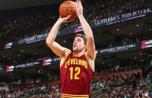 Joe Harris of the Cleveland Cavaliers