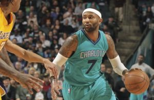 Mo Williams of the Charlotte Hornets
