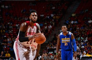 Rakeem Christmas on Cavaliers Summer League