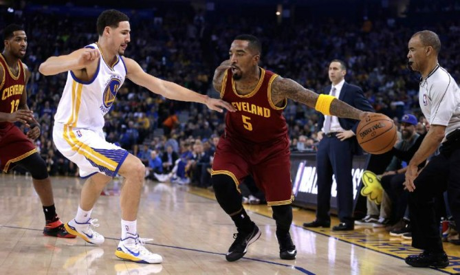 J.R. Smith in NBA Finals