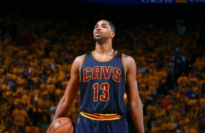 Tristan Thompson of the Cleveland Cavaliers