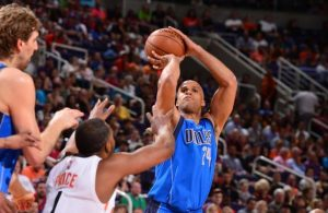 Richard Jefferson playing for the Dallas Mavericks