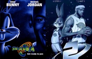 LeBron in Space Jam 2