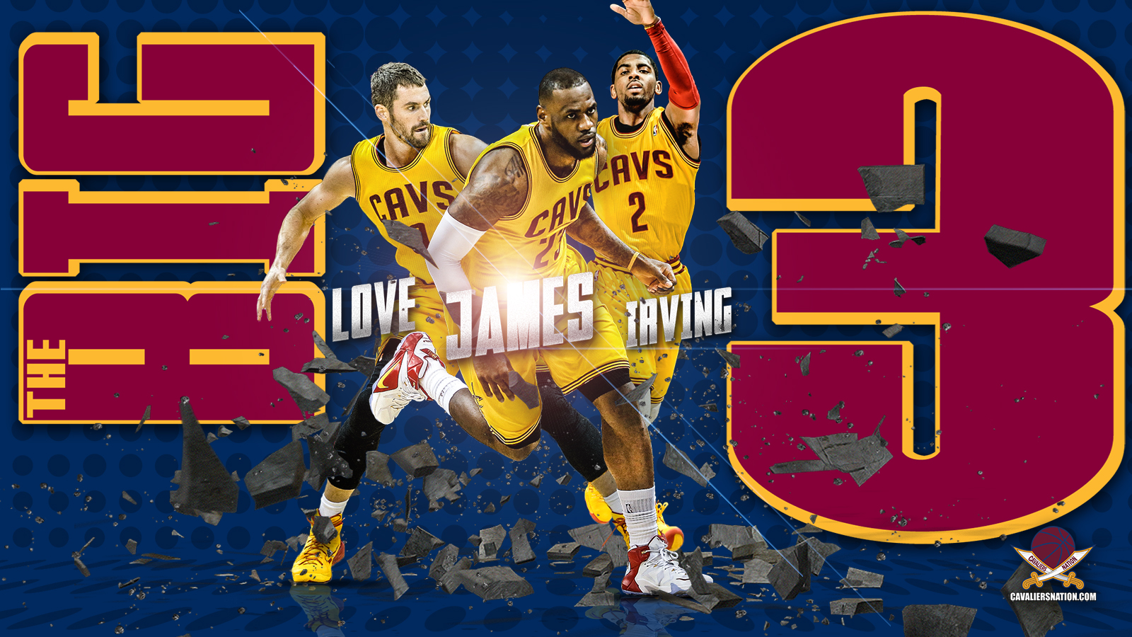 The Big 3 Wallpaper