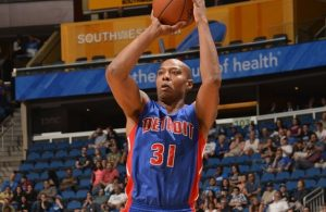 Caron Butler of the Detroit Pistons
