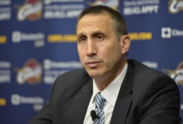 David Blatt of the Cleveland Cavaliers