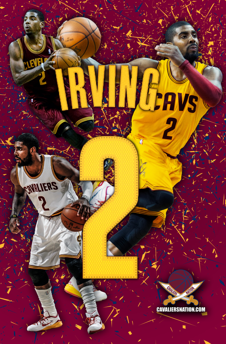 Kyrie Irving Abstract Wallpaper Cavaliers Nation