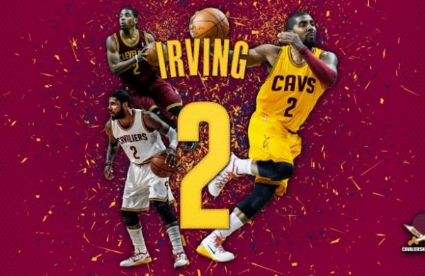 """Kyrie Irving """"Abstract"""" Wallpaper"""