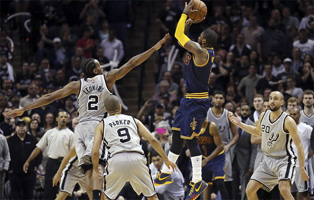 Kyrie Irving game-tying three-pointer vs. Spurs