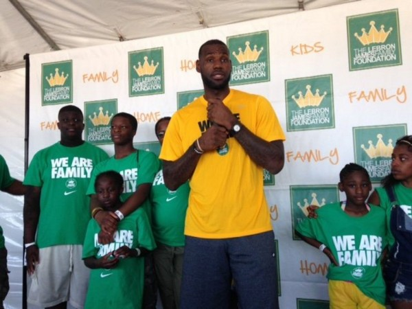 LeBron to Provide Full Scholarships to Children Who Complete I Promise Program