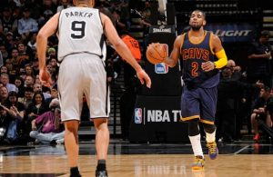 Kyrie Irving Tony Parker