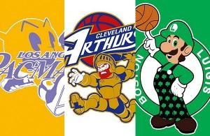 NBA logos redesigned
