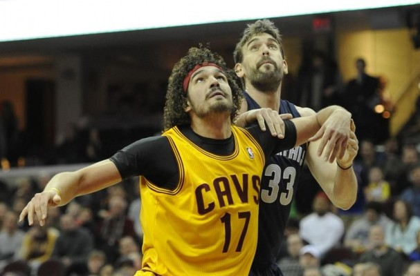 Anderson Varejao vs. Memphis on December 21, 2014