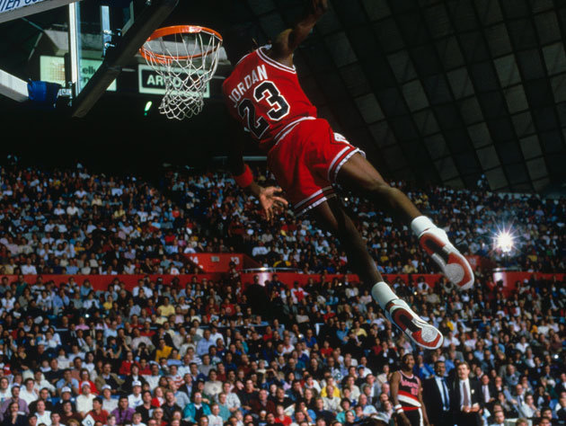 Michael Jordan Famous Dunk: Top 10 Vertical Leapers In NBA History
