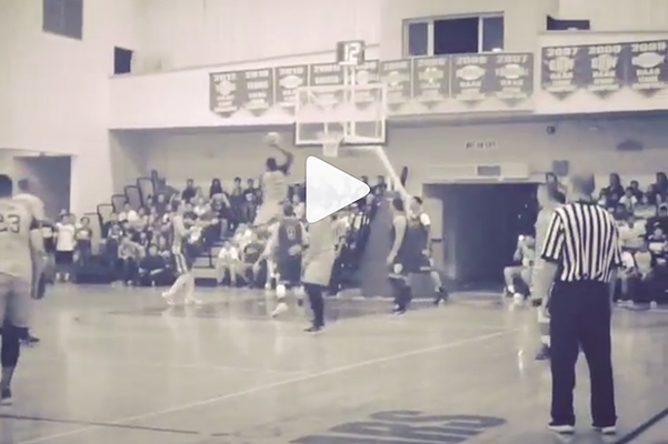Video: J.R. Smith Throws Down Nasty One-Hander at Basketball Clinic