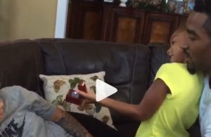 Video: J.R. Smith Proposes to Girlfriend with Help of His Daughter