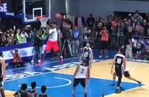 Video: LeBron Throws Down Several Sick Dunks in Philippines
