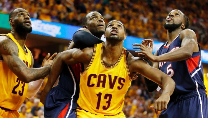 Tristan Thompson vs. Atlanta Hawks