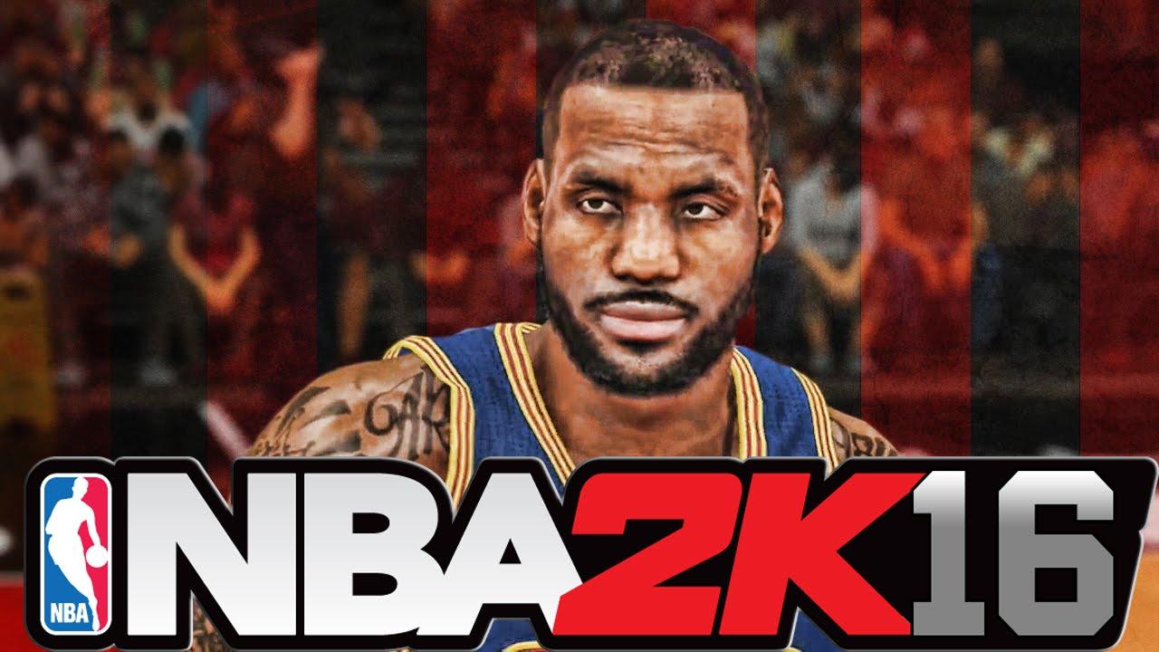 LeBron NBA 2K16