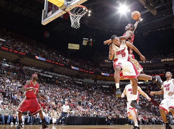 LeBron James vertical leap