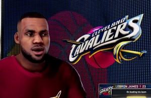 LeBron James NBA 2K16