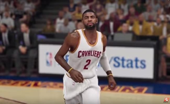 Kyrie Irving NBA 2K16