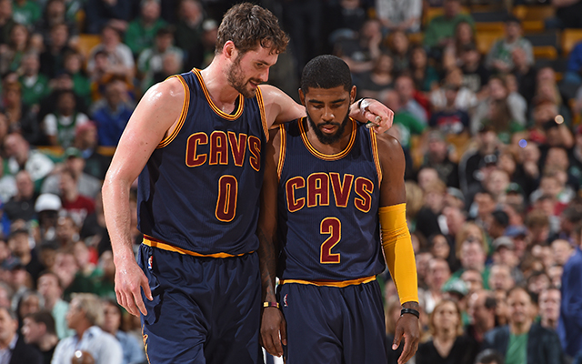 Kyrie Irving Kevin Love Cavs
