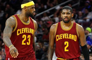 LeBron James Kyrie Irving Cavs