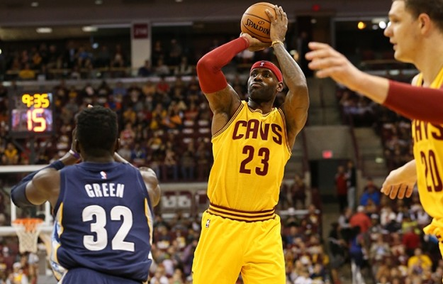 LeBron James vs. Memphis Grizzlies October 12, 2015