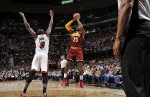 LeBron James vs. Miami Heat -- October 30, 2015