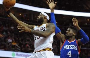LeBron vs. Philadelphia 76ers