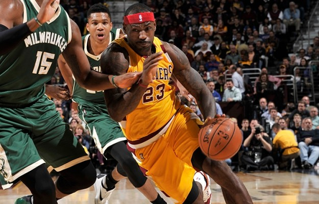 Lebron James vs. Milwaukee Bucks -- November 19, 2015